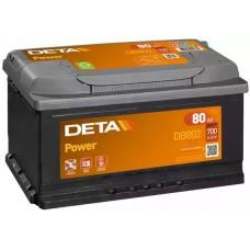 Deta DB802, 80А·ч