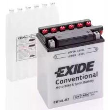 Exide EB14L-B2, 14А·ч