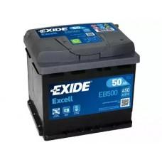 Exide EB500, 50А·ч