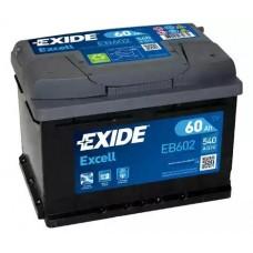 Exide EB602, 60А·ч