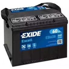 Exide EB608, 60А·ч