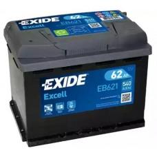 Exide EB621, 62А·ч