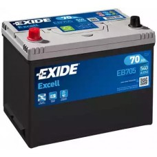 Exide EB705, 70А·ч