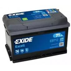 Exide EB712, 71А·ч