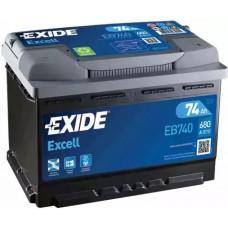 Exide EB740, 74А·ч