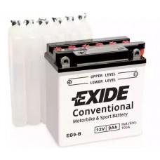 Exide EB9-B, 9А·ч
