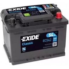 Exide EC542, 54А·ч