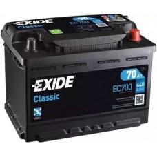 Exide EC700, 70А·ч