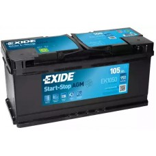 Exide EK1050, 105А·ч