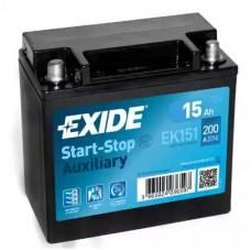 Exide EK151, 15А·ч
