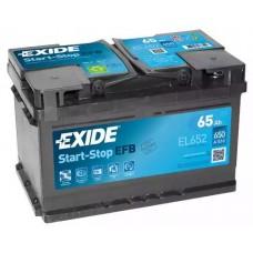 Exide EL652, 65А·ч