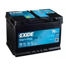 Exide EL700, 70А·ч