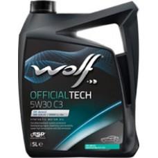 WOLF OFFICIALTECH 5W30 C3  5 л